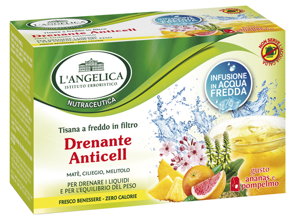TISANA DRENANTE ANTICELL L'ANGELICA
