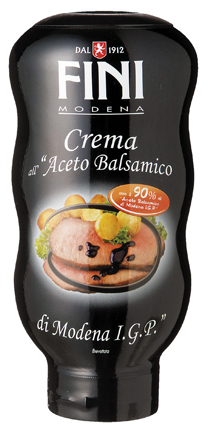 CREMA ALL'ACETO BALSAMICO DI MODENA IGP TOP DOWN FINI